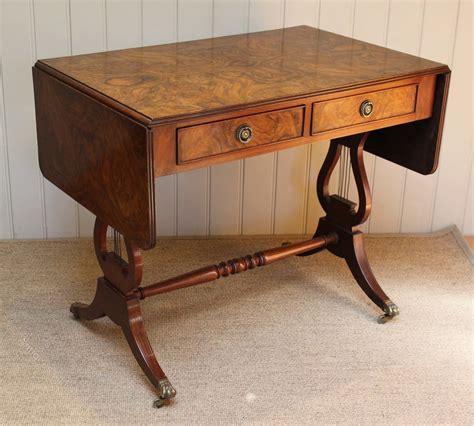 vintage sofa table walnut sofa table antiques atlas 3257