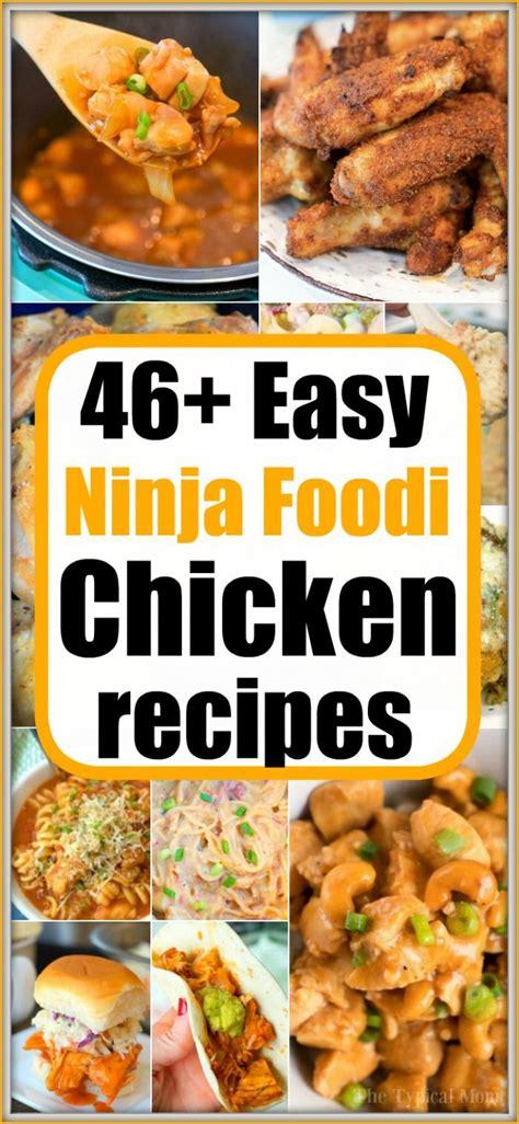 ninja foodi chicken recipes    frozen