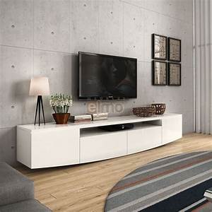 best table de tv design images joshkrajcikus With attractive meuble de cuisine design 1 meuble tv design suspendu fino chloe design