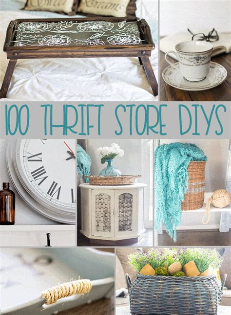 thrift store diy projects domestically speaking