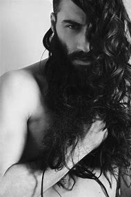 Men with Beards and Long Hair