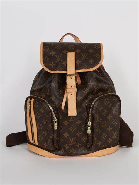 louis vuitton bosphore backpack monogram canvas luxury bags