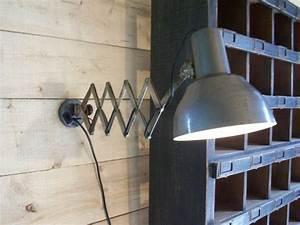 Lampe D Atelier Led : lampe d 39 atelier photo de lampes luminaires brocante ~ Edinachiropracticcenter.com Idées de Décoration