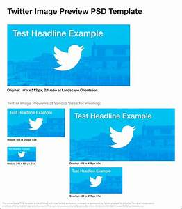 Twitter Picture Size Twitter Image Preview Psd Template James Young Jydesign