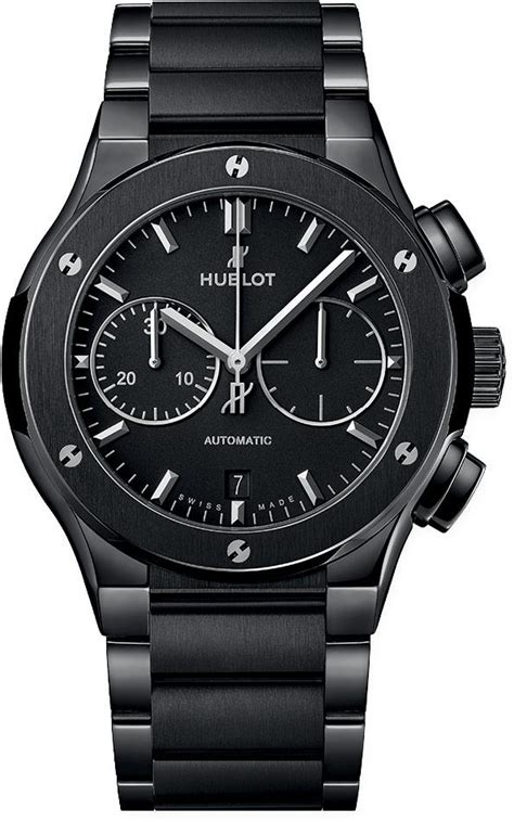 Maybe you would like to learn more about one of these? Hublot Classic Fusion Chronograph 45mm Black Dial Ref. 520.CM.1170.CM - The Luxury Well