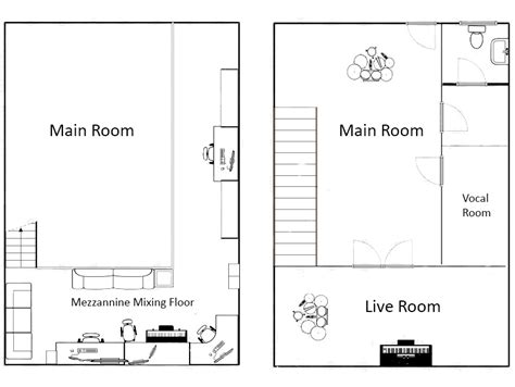 studio layout studio layout cooz s records