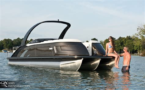 The Fishing Boat Club Reviews by Bennington Pontoon Boats Photo Gallery