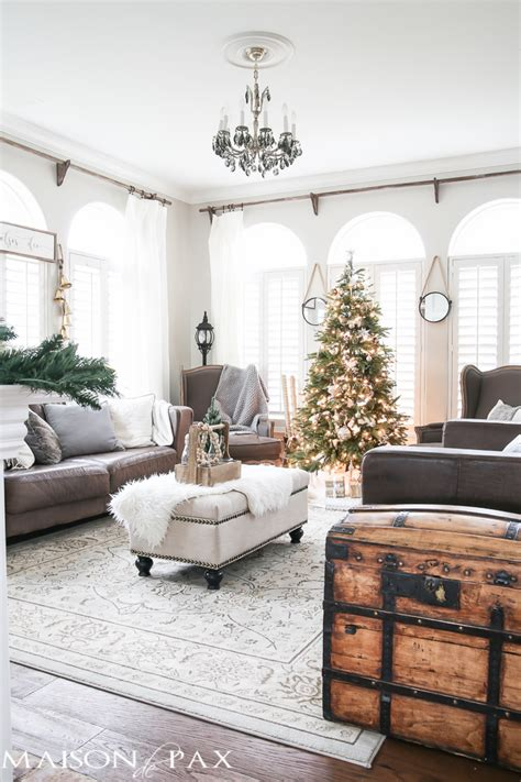 rustic natural neutral christmas style series the happy housie