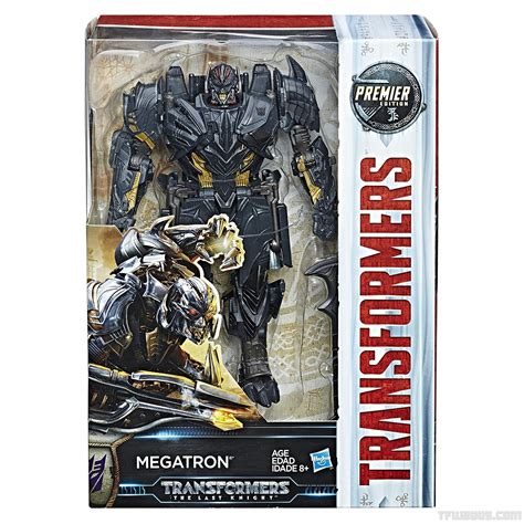 megatron grey official in package images of several transformers the
