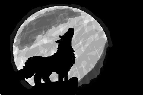 lobo uivando desenho de wolfgirl gartic