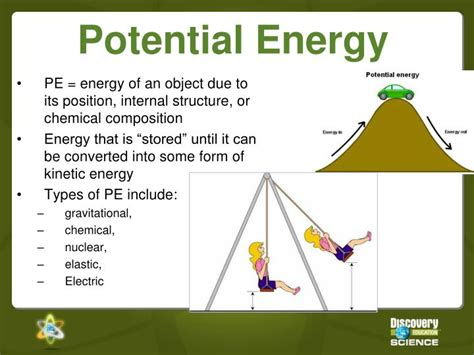 ppt potential and kinetic energy powerpoint presentation