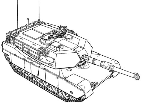 tank coloring pages    print