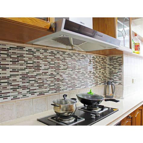 kitchen backsplash sheets kitchen backsplash peel and stick tiles faux subway glossy