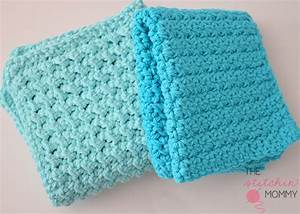 Textured Washcloth Easy Crochet Pattern FaveCrafts com