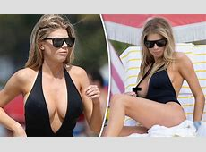 Charlotte McKinney flashes nipple as she suffers racy