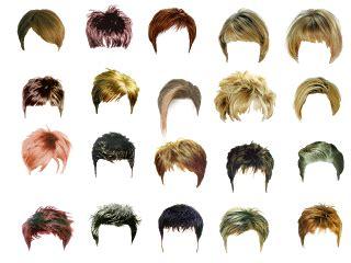psd  photoshop hair style  men psd