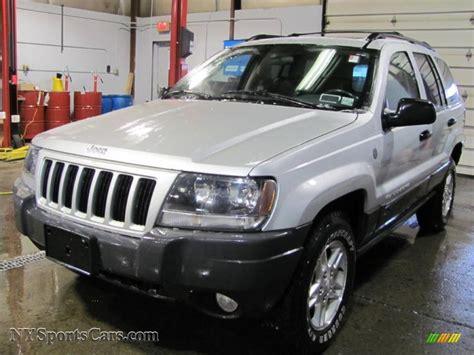 silver jeep grand cherokee 2004 2004 jeep grand cherokee laredo 4x4 in bright silver