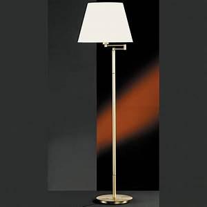Stehlampe Schirm : stehlampe mit schwenkbarem schirm weiss oder beige ~ Pilothousefishingboats.com Haus und Dekorationen
