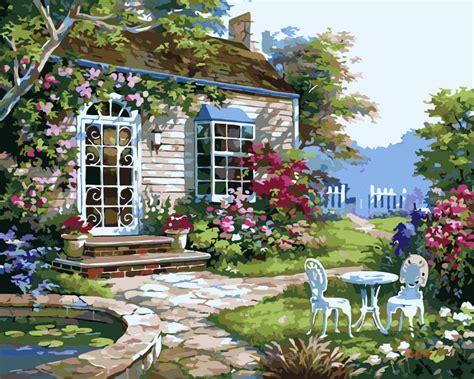 popular flower garden drawings buy cheap flower garden