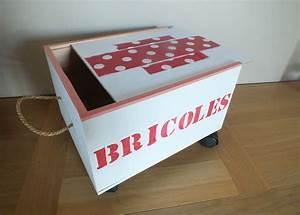 Caisse à Roulettes : id e rangement r cup faire un petit chariot roulettes ~ Teatrodelosmanantiales.com Idées de Décoration