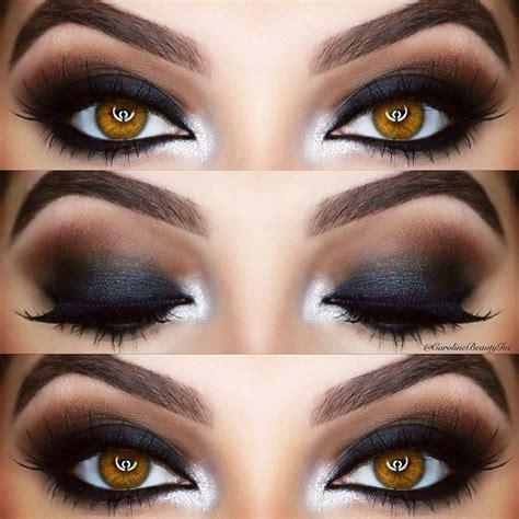 Красивый вечерний макияж глаз 20202021 фото уроки особенности макияжа под цвет глаз . Вечерний макияж глаз Идеи макияжа Макияж.