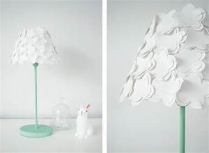 Abat Jour Pour Lampe Sur Pied : diy lampe papier ~ Teatrodelosmanantiales.com Idées de Décoration