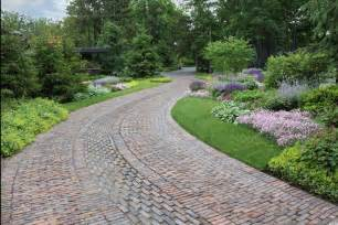 driveway landscape ideas 6 driveway looks take landscapes along for the ride