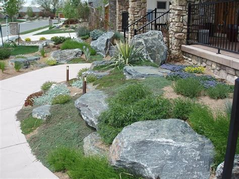 boulders in landscaping garden design longmont co photo gallery landscaping network