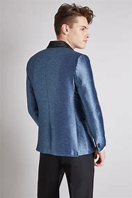 Metallic Blue Jacket