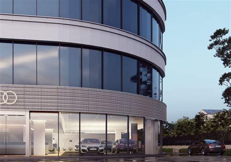 Audi Dealership, India | CGTrader