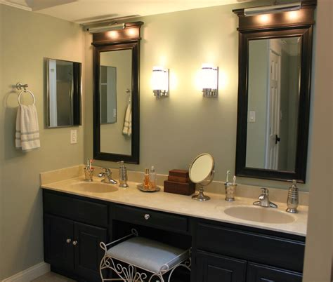 bathroom vanity mirror and light ideas glamorous black vanity light fixtures 2017 ideas black