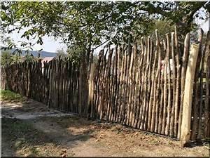 Holzgeländer Selber Bauen : einzigartige holz zaun aus zweigen holzzaun aus zweigen ~ Lizthompson.info Haus und Dekorationen
