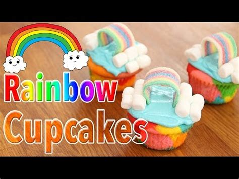 cupcakes kawaii arc en ciel multicolores carl is cooking