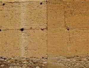 Mur En Pisé : enduits sur terre crue les r gles conna tre ma onnerie ~ Melissatoandfro.com Idées de Décoration