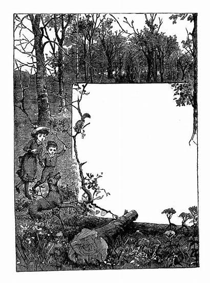 Frame Nature Stamps Wild Frames Printable Stamp