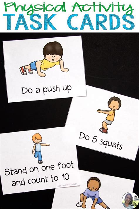 physical activity cards exercise cards brain breaks 976 | 047284229e4e341ea9fb2ee332a2bb1b