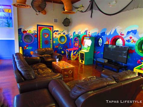 Game Room Kids At Home Design Concept Ideas