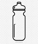 Bottle Water Clipart Outline Coloring Drawing Gatorade Shaker Truck Colorir sketch template