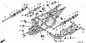 Honda Atv 2013 Oem Parts Diagram For Frame