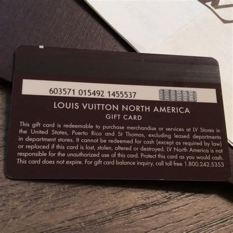 Louis Vuitton Louis Vuitton  Ee  Gift Ee    Ee  Card Ee   From