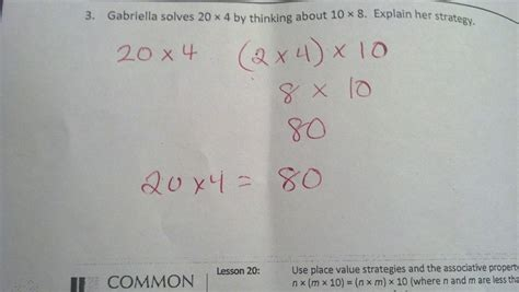 Common Core Math  Common Core
