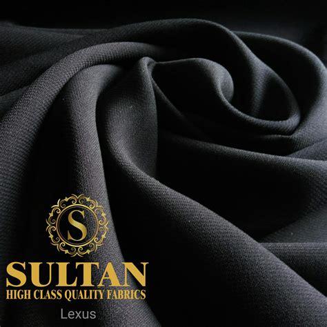 pabrik kain jetblack bahan gamis abaya saudi lexus fursan