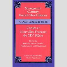 Nineteenthcentury French Short Stories (duallanguage) Book By Stanley Appelbaum (editor) 1
