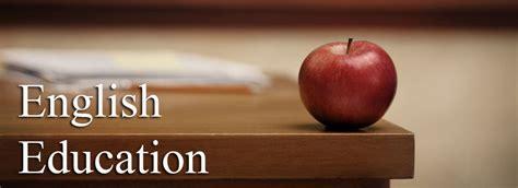 english education courses degrees home