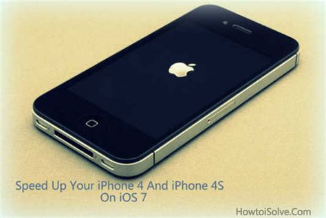 how to speed up my iphone how to speed up iphone 4 and iphone 4s on ios 7 tips
