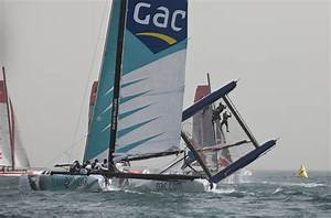 Extreme Sailing Series Qingdao pitchpole | The Daily Sail