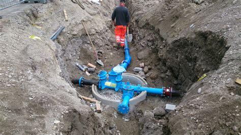 Verlegen Einer Kaltwasserleitung by Klammstra 223 E Neuverlegung Wasserleitungen Verkehr