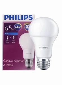 Philips Lampu Led Cool Daylight E27 6 5 Watt