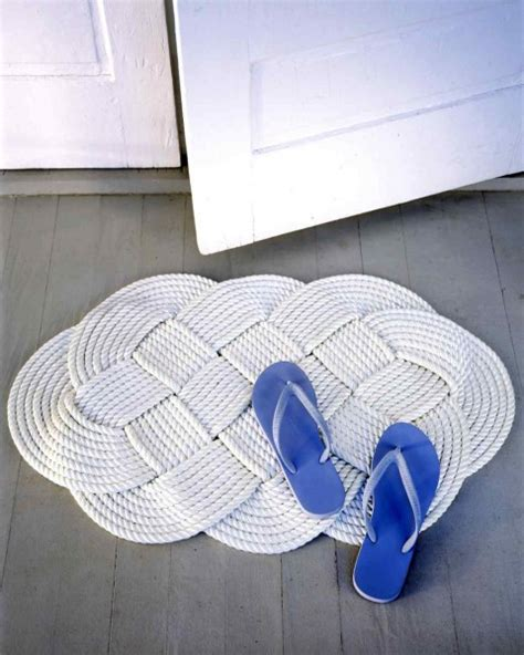 rope doormat diy 20 diy rugs anyone can make to upgrade your home