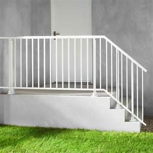 Rampe Escalier Lapeyre : balustrade aluminium ~ Carolinahurricanesstore.com Idées de Décoration